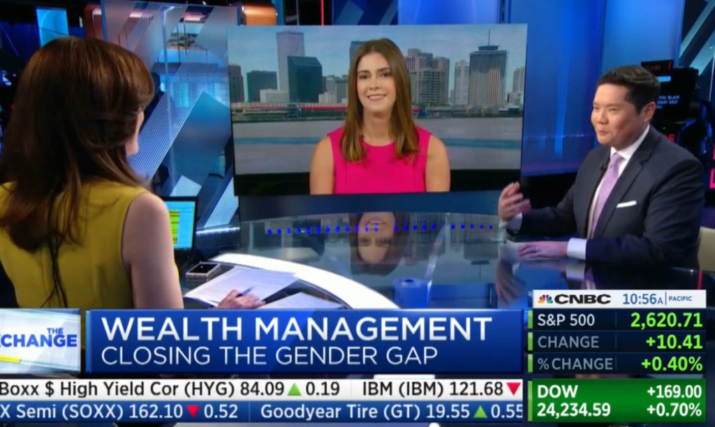Blair DuQuesnay on CNBC with Kelly Evans and Dominic Chu
