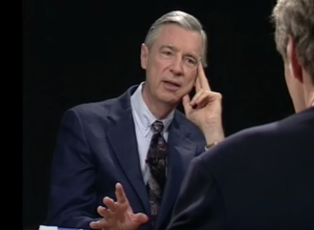 Fred Rogers interviewed by Charlie Rose in 1994
