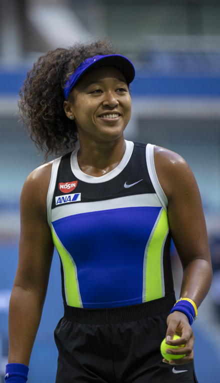 Naomi Osaka at the 2020 US Open
