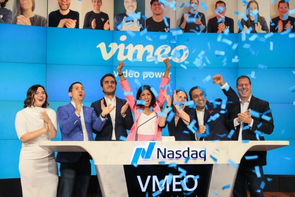 Anjali Sud Vimeo CEO at the IPO